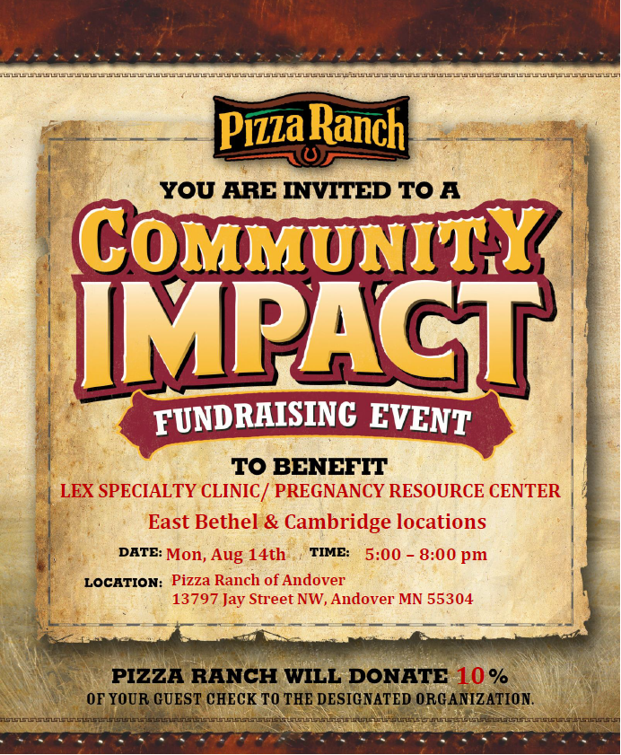 Pizza Ranch Flyer